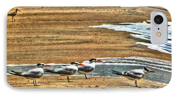 Dee-tern-mined Phone Case by William Fields