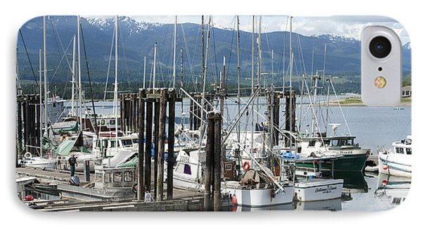 IPhone Case featuring the photograph Deep Bay Harbor by Artist and Photographer Laura Wrede
