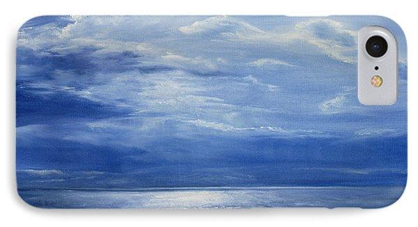 Deep Blue Sea Phone Case by Antonia Myatt