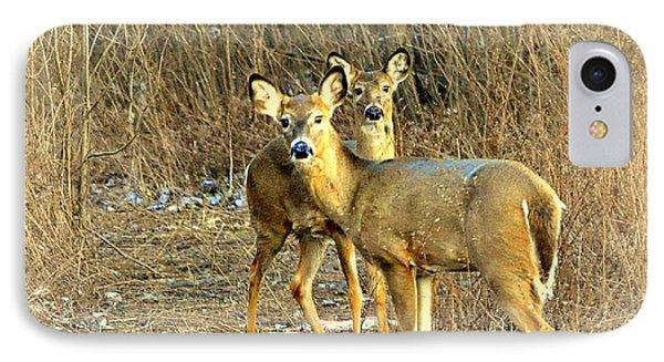 Deer Duo Phone Case by Marty Koch