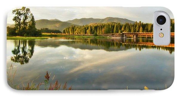 Deer Island Bridge IPhone Case by Albert Seger