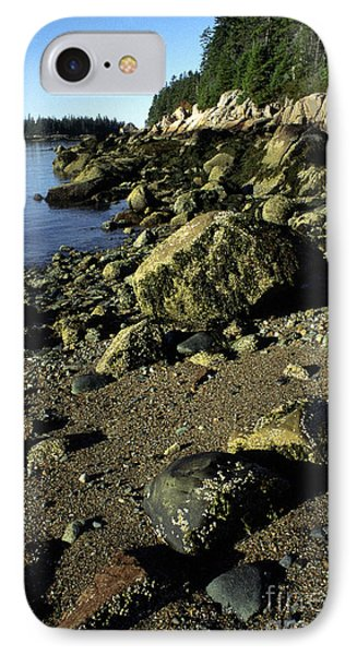 Deer Isle And Barred Island Phone Case by Thomas R Fletcher