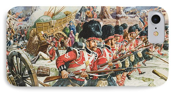 Defence Of Corunna IPhone Case by C L Doughty