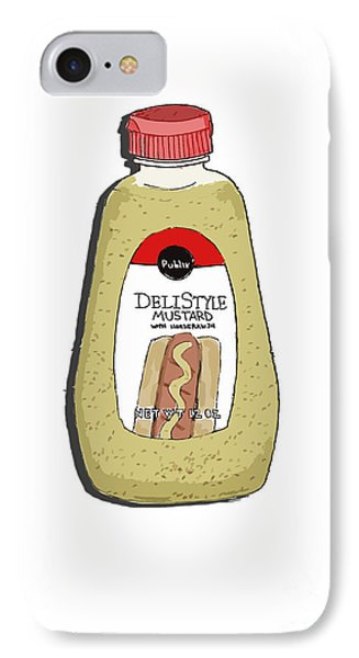 Deli Style Mustard Phone Case by George Pedro