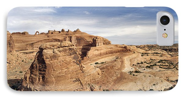 Delicate Arch Viewpoint - D004091 Phone Case by Daniel Dempster