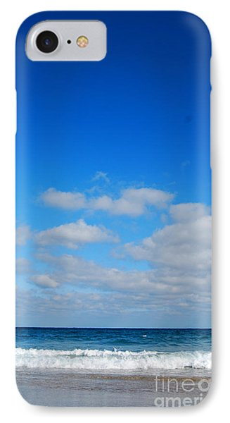 Delray Sea And Sky IPhone Case by Linda Mesibov