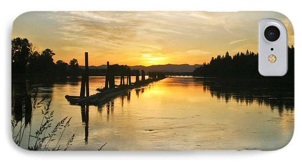 Delta Sunset IPhone Case by Albert Seger
