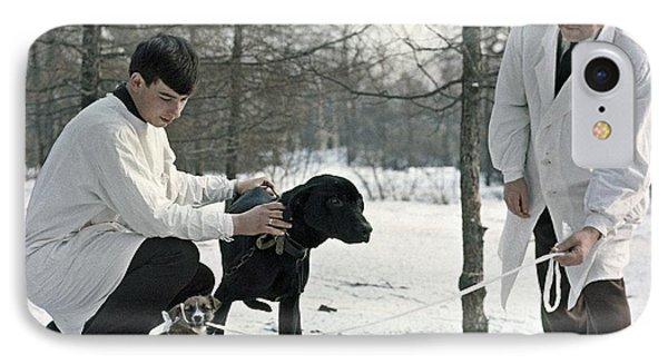 Demikhov's Laboratory Dogs, 1967 Phone Case by Ria Novosti