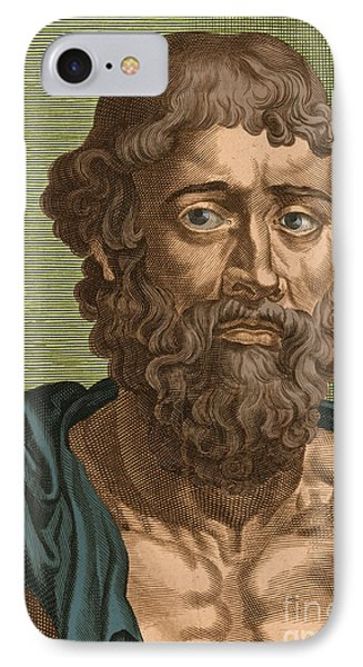 Demosthenes, Ancient Greek Orator Phone Case by Photo Researchers