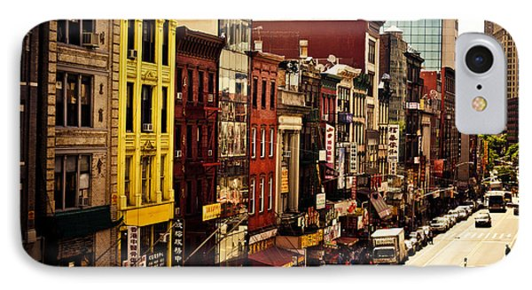 Density - Above Chinatown - New York City IPhone Case by Vivienne Gucwa