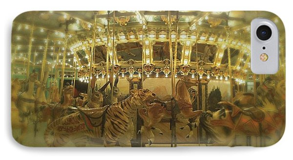 Dentzel Carousel At Glen Echo Park Maryland IPhone Case