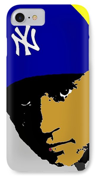 Derek Jeter  IPhone Case by Paul Van Scott