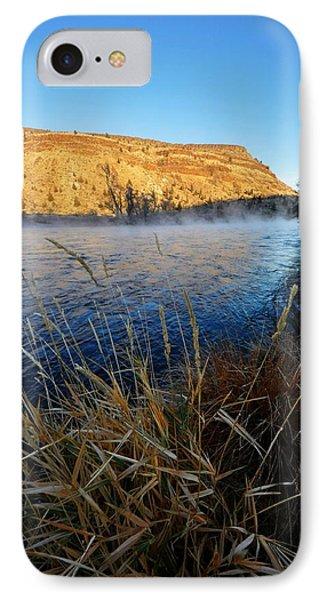 Deschutes River Steam  IPhone Case by Noah Cole