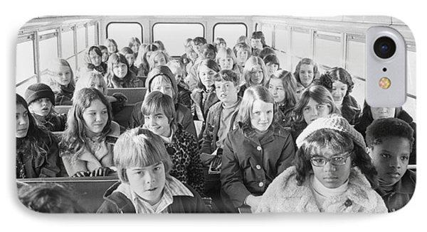 Desegregation: Busing, 1973 Phone Case by Granger