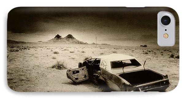 Desert Arizona Usa Phone Case by Simon Marsden
