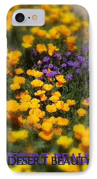 IPhone Case featuring the photograph Desert Beauty by Carla Parris