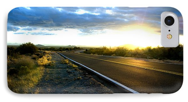 Desert Highway IPhone Case by Anthony Citro