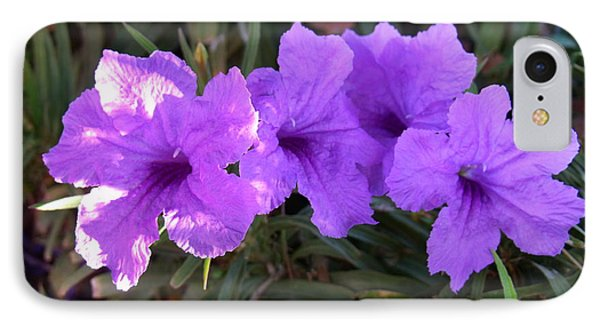 Desert Petunia IPhone Case