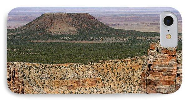Desert Watch Tower View Phone Case by Julie Niemela