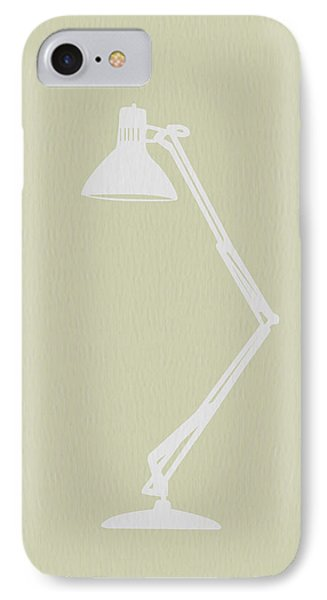 Desk Lamp IPhone Case by Naxart Studio