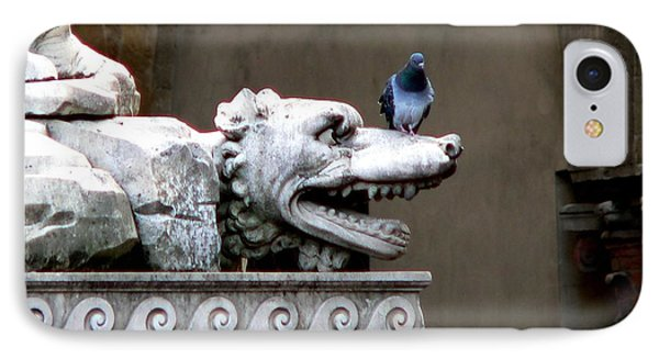 Despised Pigeon IPhone Case by Eric Tressler