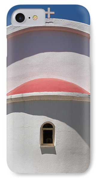 Detail Of Small Church Between Limnes Phone Case by Axiom Photographic