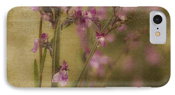 Dewdropped Garden IPhone Case by Bonnie Bruno