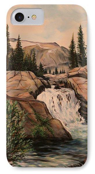 Dewey Falls IPhone Case by Patti Gordon