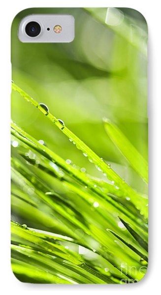 Dewy Green Grass  Phone Case by Elena Elisseeva