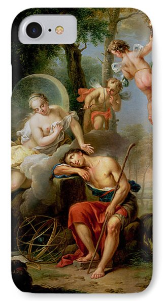 Diana And Endymion Phone Case by Frans Christoph Janneck
