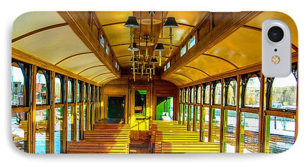 IPhone Case featuring the photograph Dining Car by Shannon Harrington