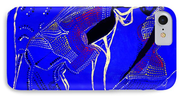 IPhone Case featuring the painting Dinka Marriage by Gloria Ssali