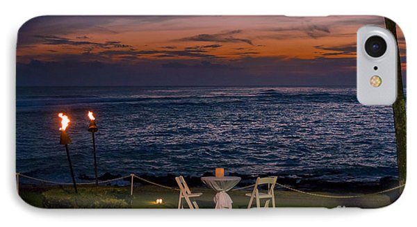 Dinner Setting In Paradise Phone Case by Darcy Michaelchuk