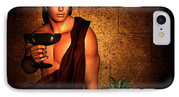 Dionysus IPhone Case by Lourry Legarde