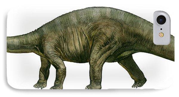 Diplodocus, A Prehistoric Era Dinosaur Phone Case by Sergey Krasovskiy