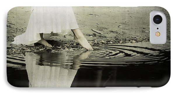Dipping The Foot Phone Case by Joana Kruse