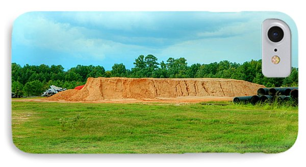 Dirt Hill  Phone Case by Ester  Rogers