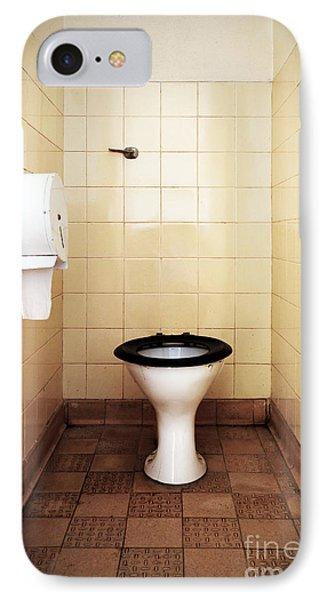 Dirty Public Toilet Phone Case by Richard Thomas