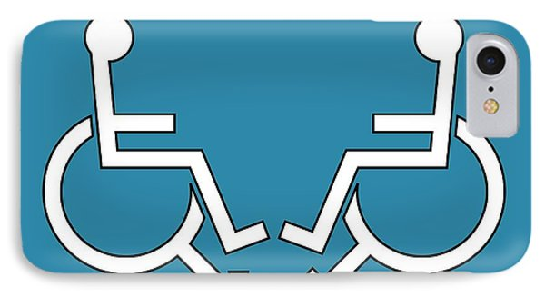 Disability Sexuality, Conceptual Artwork Phone Case by Stephen Wood