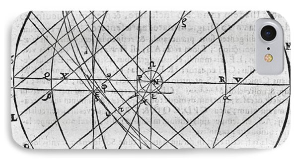 Distortion Of The Sun, 17th Century Phone Case by Middle Temple Library