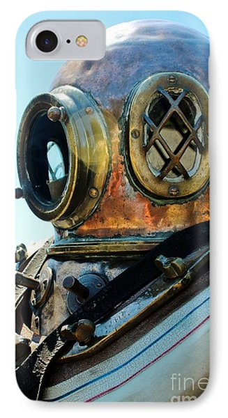 Dive Helmet Phone Case by Rene Triay Photography