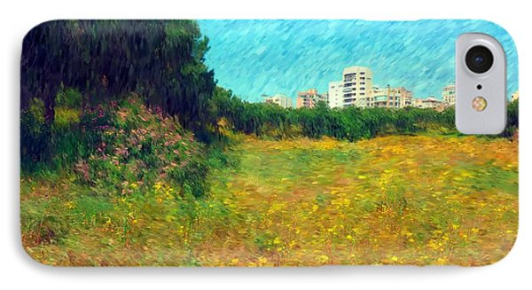 IPhone Case featuring the photograph Do-00479 Bois Des Pins - Impressionist by Digital Oil