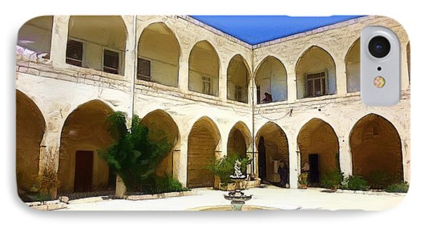 IPhone Case featuring the photograph Do-00494 Inside Court Saidet El-nourieh by Digital Oil