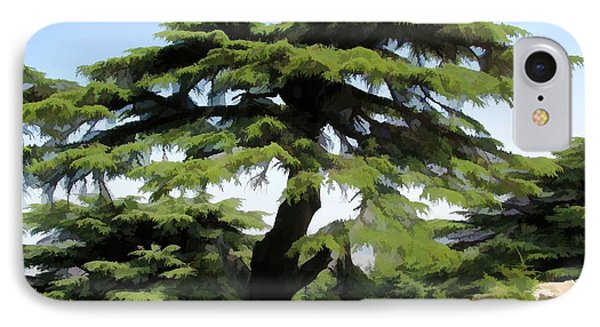 Do-00511 Cedar Forest IPhone Case by Digital Oil