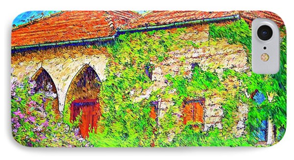 IPhone Case featuring the photograph Do-00530 Old House by Digital Oil