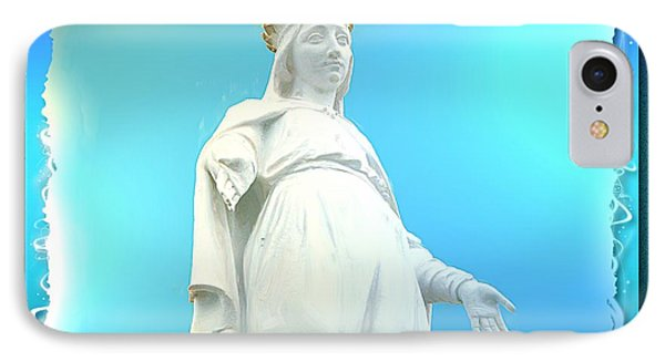 Do-00531 Our Lady Of Lebanon IPhone Case
