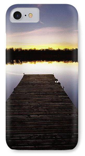 Dock At Sunset Phone Case by Gareth McCormack