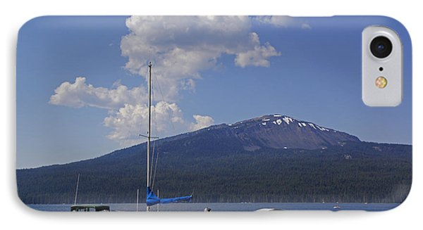 IPhone Case featuring the photograph Docks At Diamond Lake by Mick Anderson