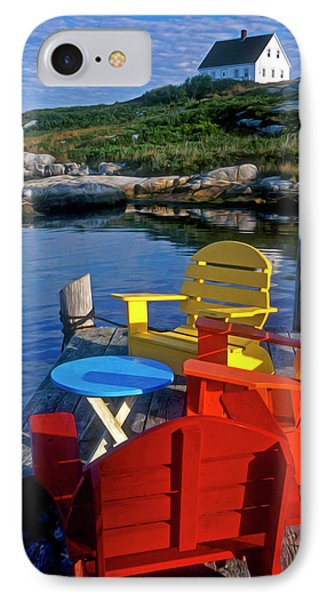 Dockside At Peggys Cove Phone Case by Dave Mills
