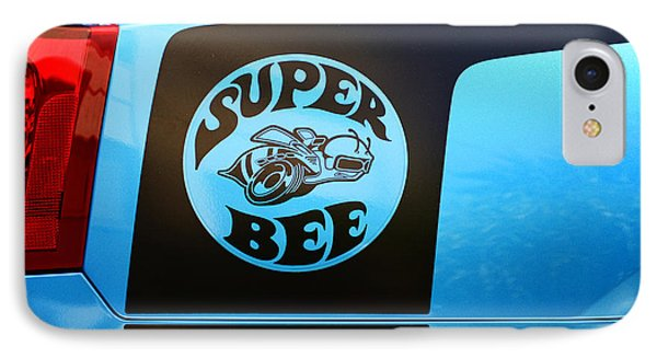 Dodge Charge Super Bee Logo  IPhone Case by Paul Ward